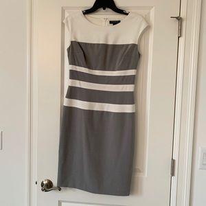 Ralph Lauren Grey Shift Dress | Sz 4